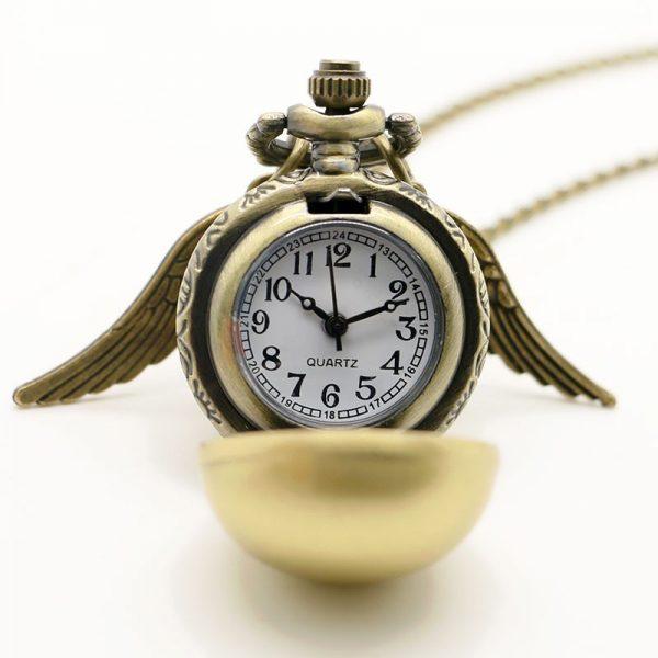 Snitch Reloj de Bolsillo