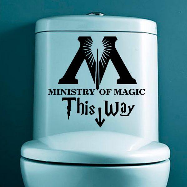 Vinilo Ministerio de Magia Harry Potter